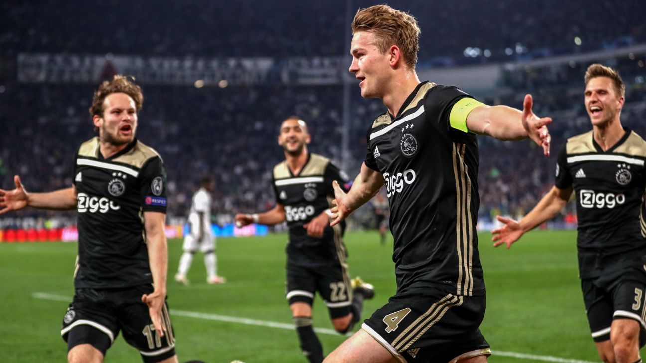 Juventus Vs Ajax Amsterdam Football Match Report