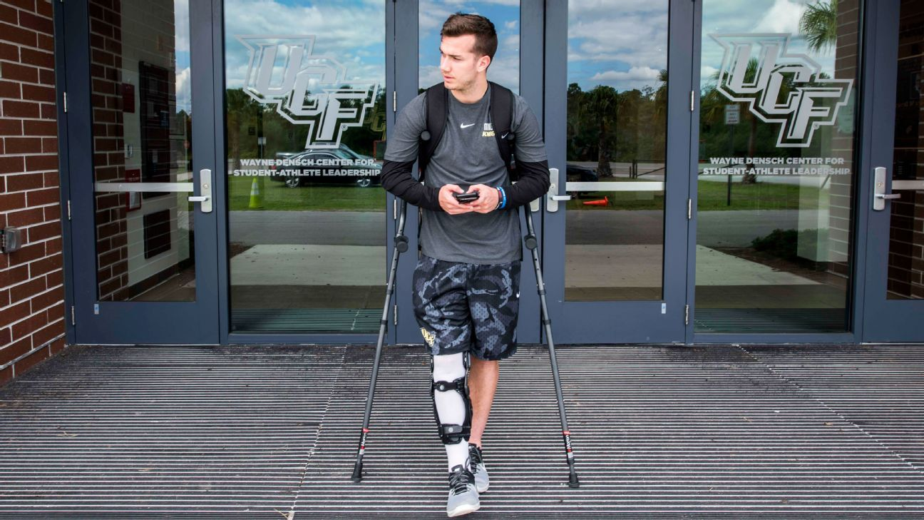 UCF QB McKenzie Milton's journey, in his own words