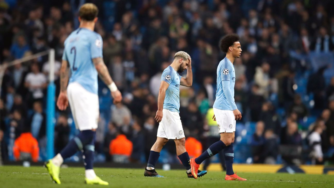 Aymeric Laporte's nightmare sees Man City bounced from UCL, Quadruple dream die