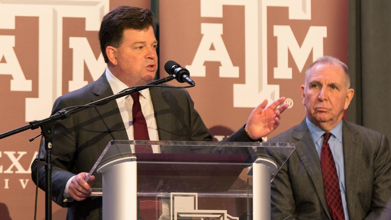 LSU has hired athletic director Scott Woodward away from Texas A&M. Here are the high-level implications for both schools.