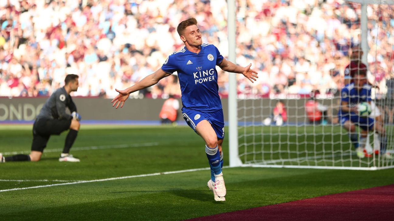 West Ham United Vs Leicester City Football Match Report April 20 2019 Espn