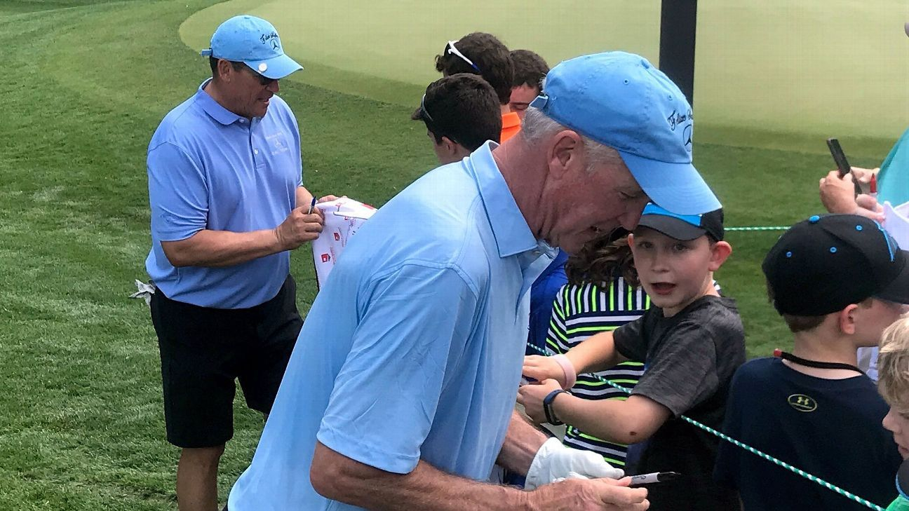 The two winningest coaches in Panthers history had never played golf together, which made for a curious pairing at the Wells Fargo Championship Pro-Am.