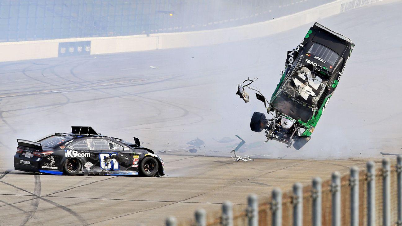 NASCAR - No changes coming after Larson crash
