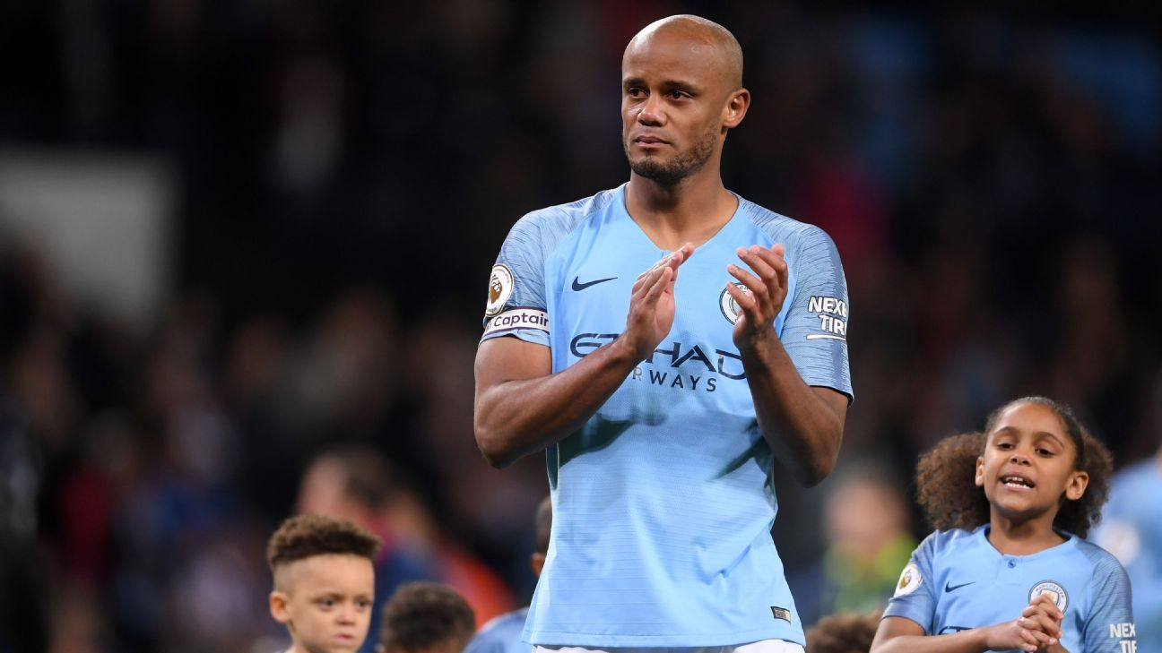 Man City captain Kompany to leave this summer