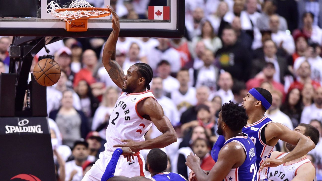 2da06d8edeb The rest of the Raptors joined Kawhi in dismantling the 76ers