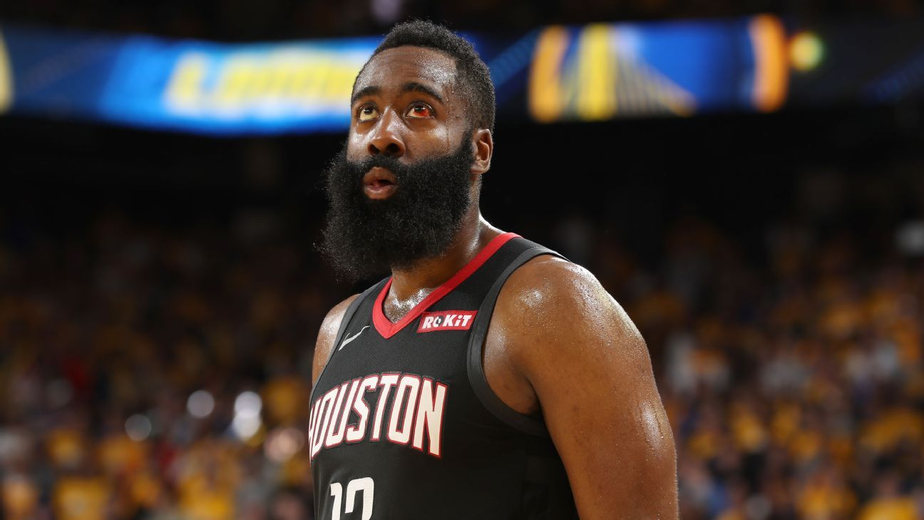 14a00fe55228 Harden fades into background late in G5 loss. James Harden logo