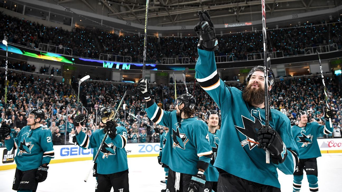 Stanley Cup Playoffs Daily: Sharks reach final four after outlasting Avalanche