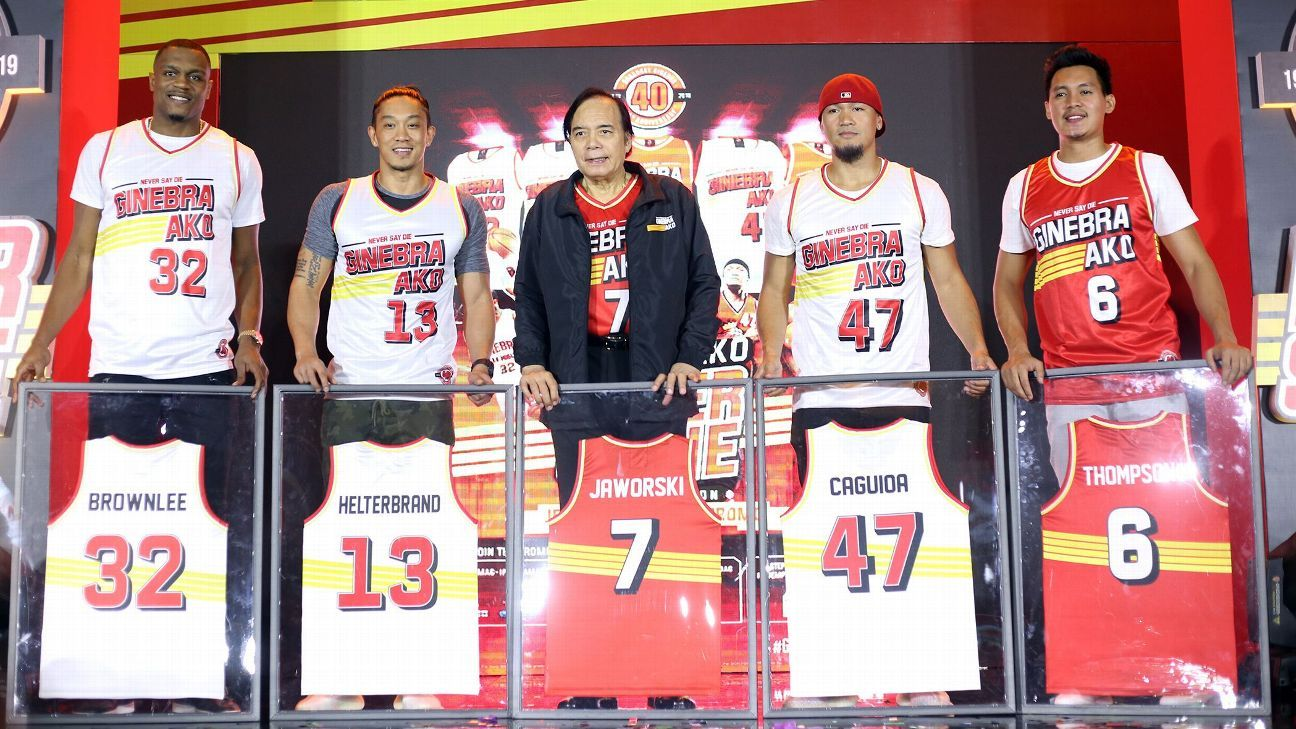 11c8d074f Photos - Ginebra  Never Say Die  Jersey Collection