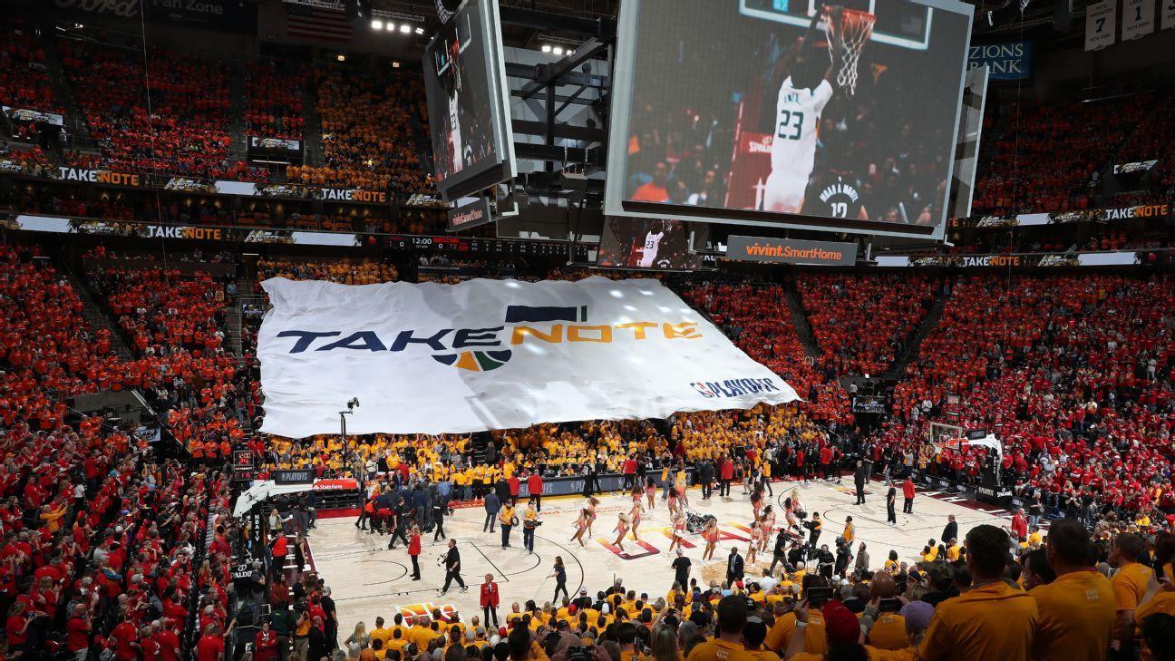 Jazz, Salt Lake City awarded NBA's All-Star Game in 2023