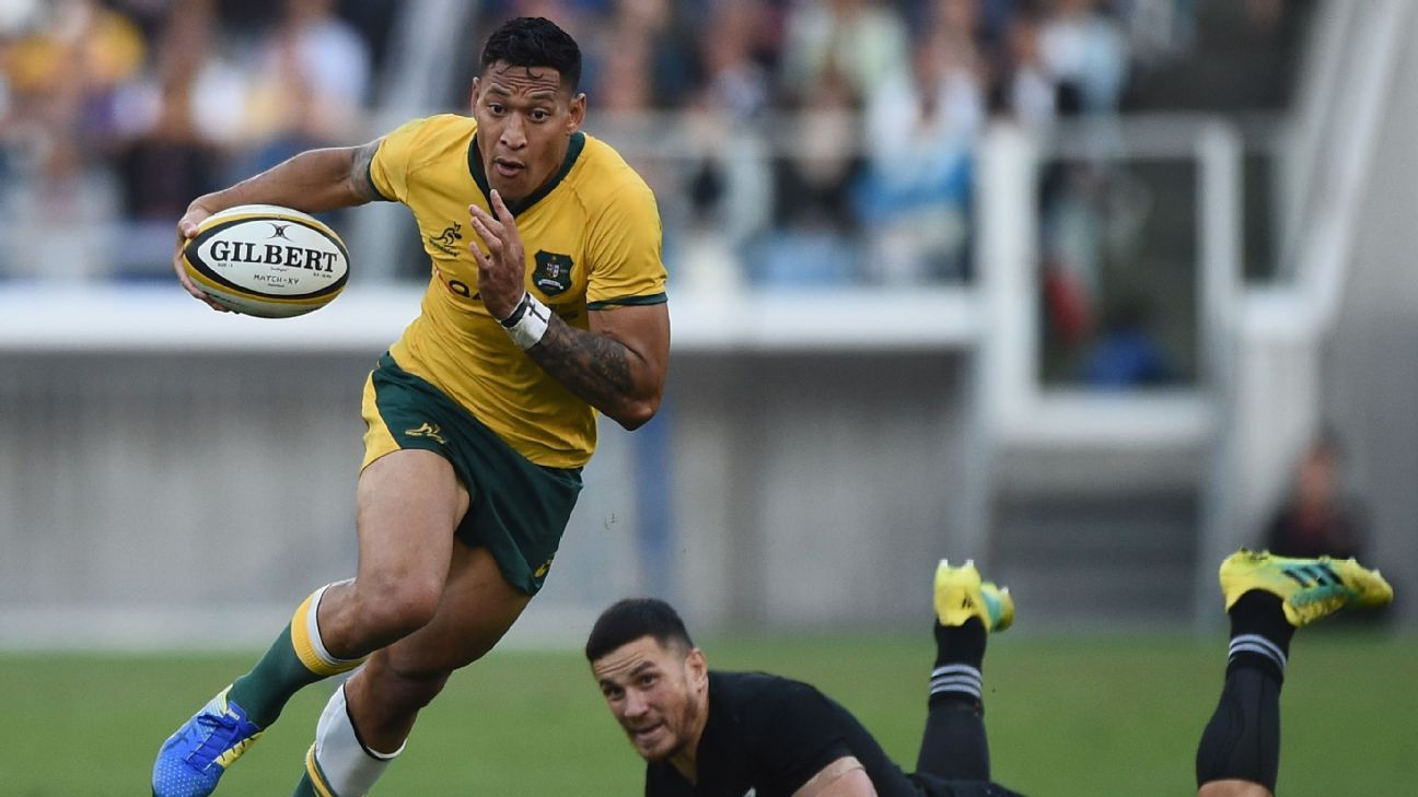 Israel Folau opts not to appeal contract termination