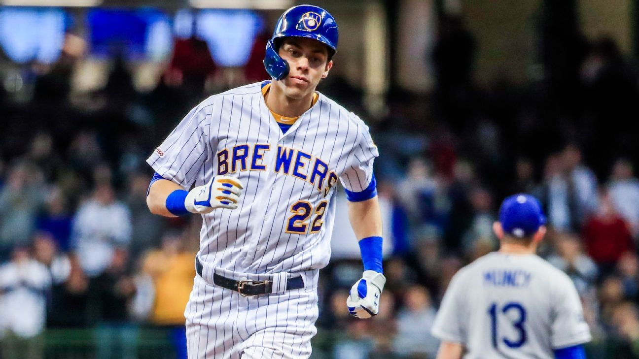 fa1948711 Christian Yelich and reimagining the  five-tool player  in 2019