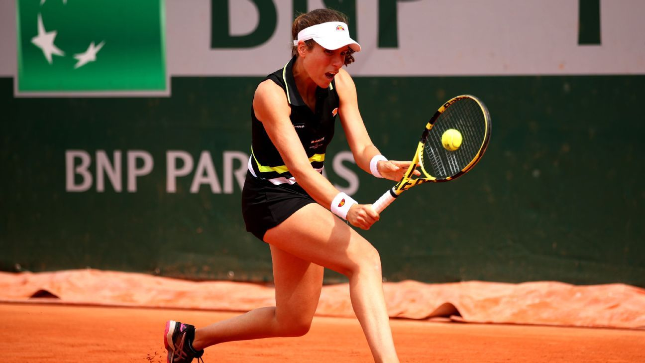 Konta through to French Open second round with straight sets win