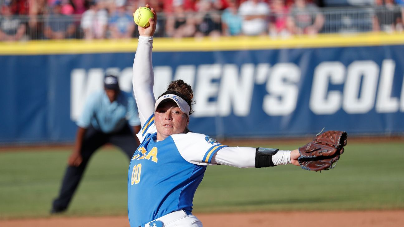 WCWS 2019: Three errors, and Oklahoma was out in Game 1 against UCLA