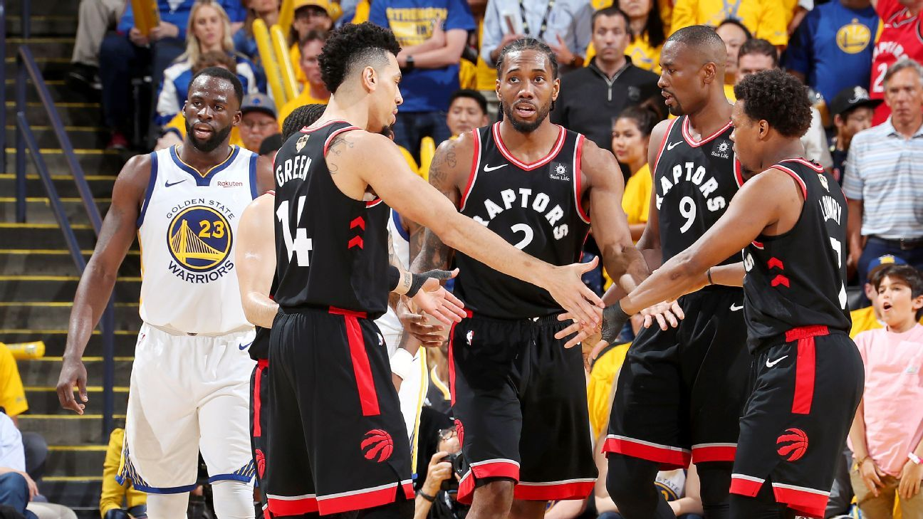 The Raptors aren't afraid to 'let it rip,' and they're not afraid of the defending champs