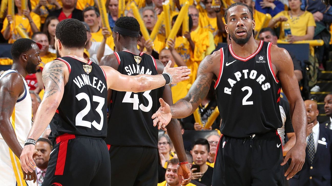 VanVleet on Kawhi: Nothing else Raptors can do