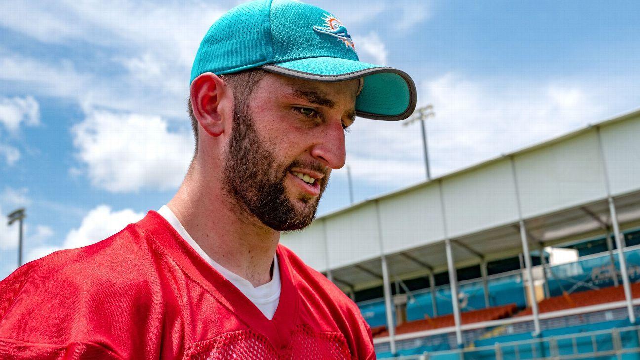 15d6f249 Josh Rosen's uphill climb to be Miami Dolphins' long-term QB starts ...
