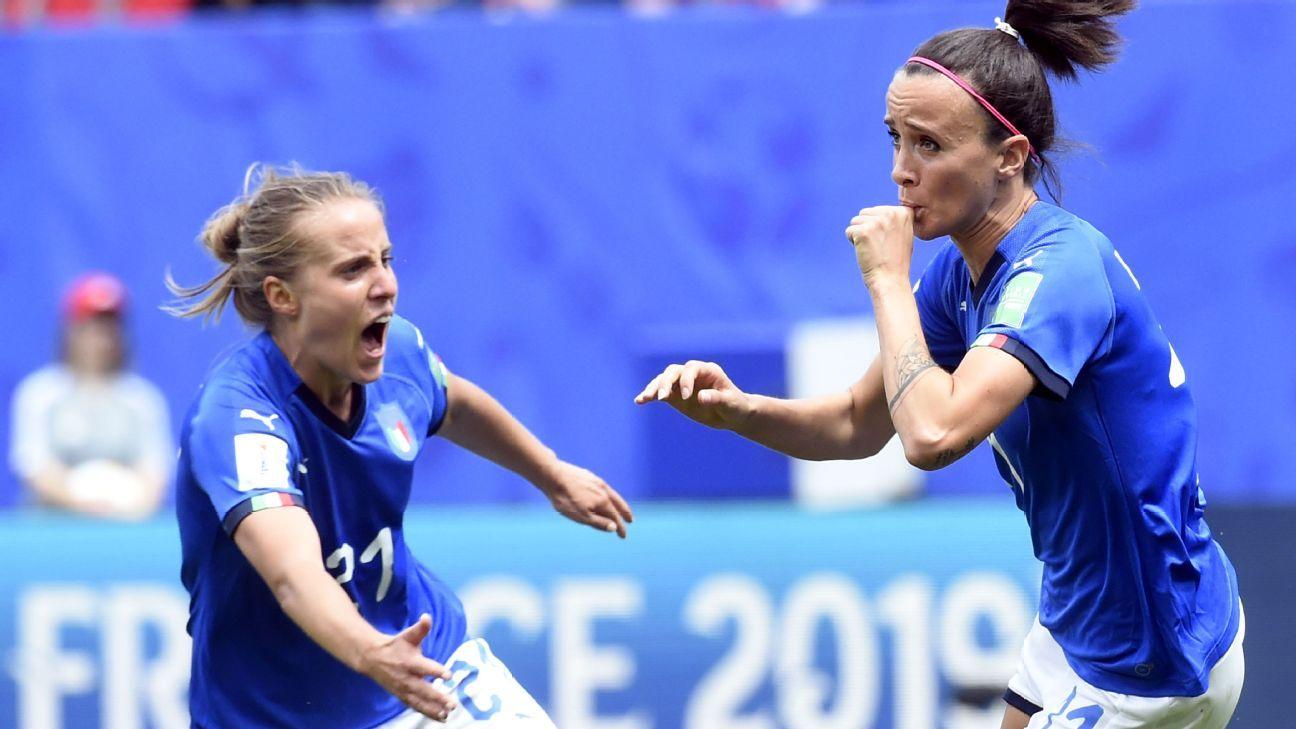 Australia vs  Italy - Football Match Report - June 9, 2019