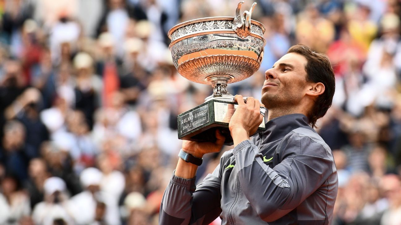 Ranking Rafael Nadal S 12 French Open Titles