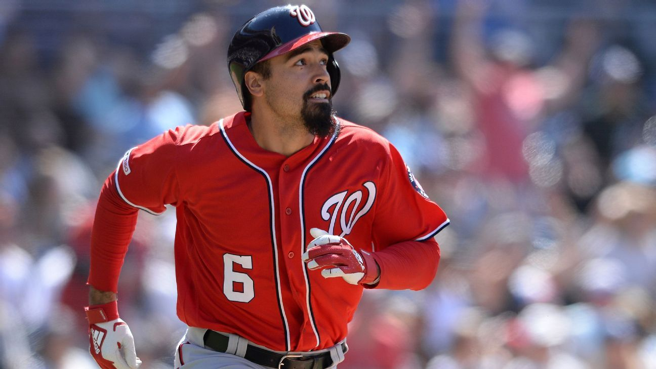 Nats make history with four straight HRs in 8th