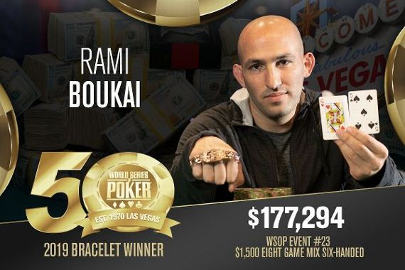 2019 World Series of Poker results