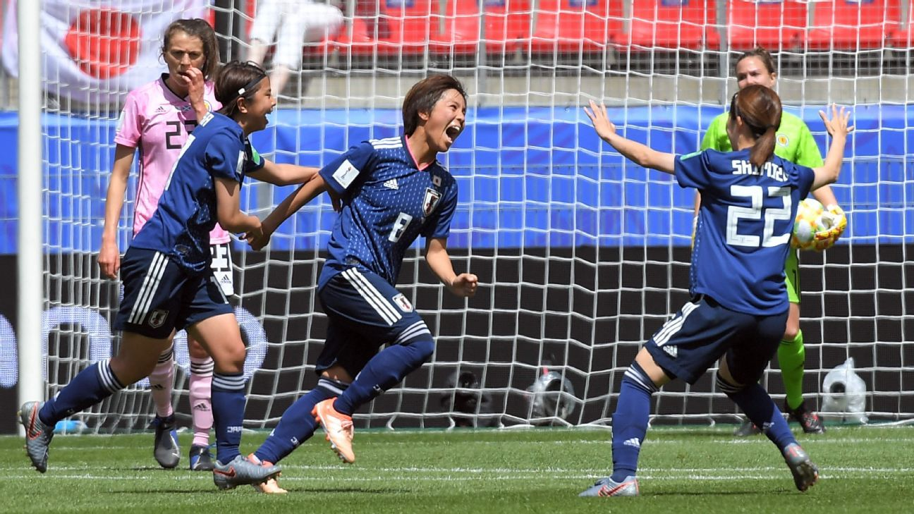 Japan back on track with win over Scotland