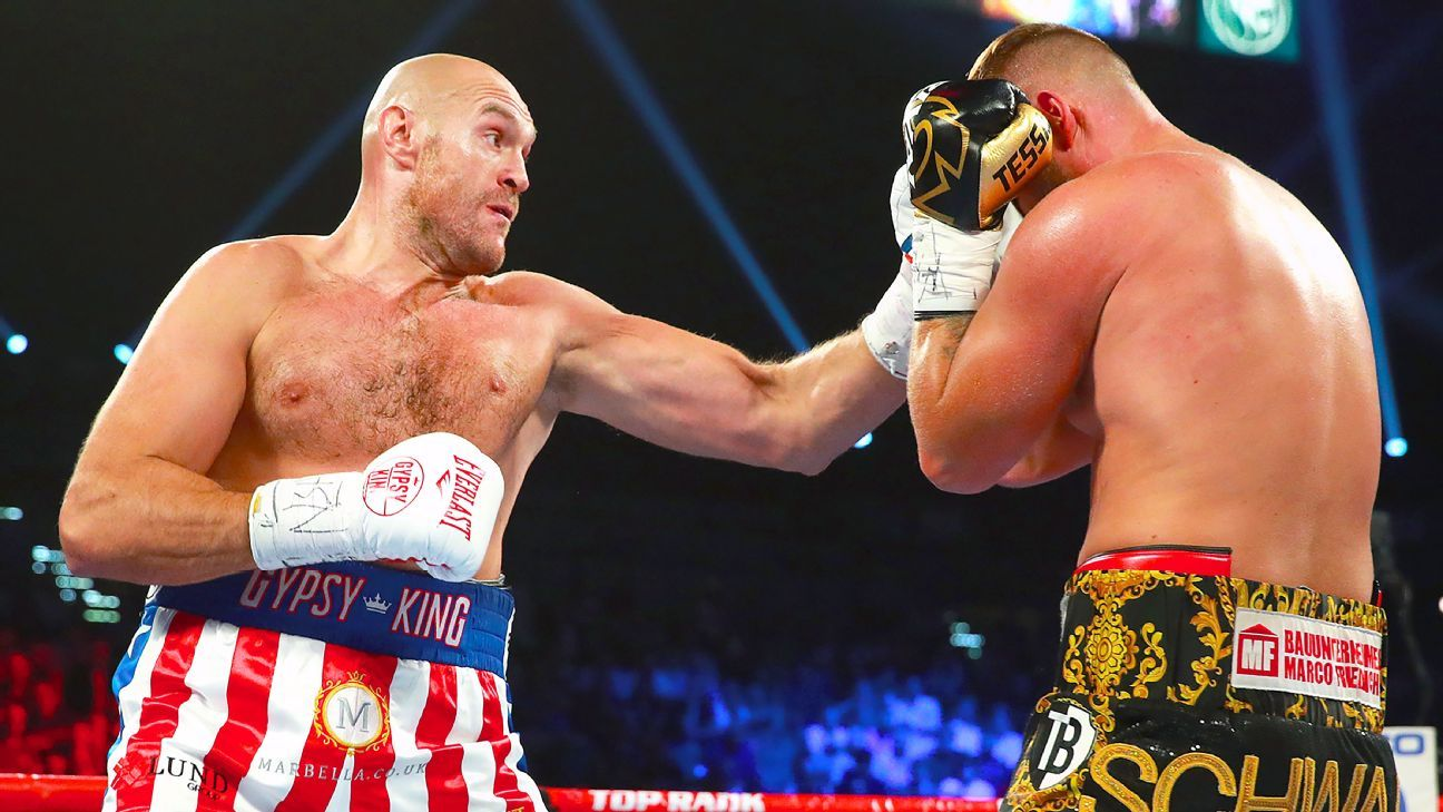 What's at stake for Tyson Fury vs. Otto Wallin