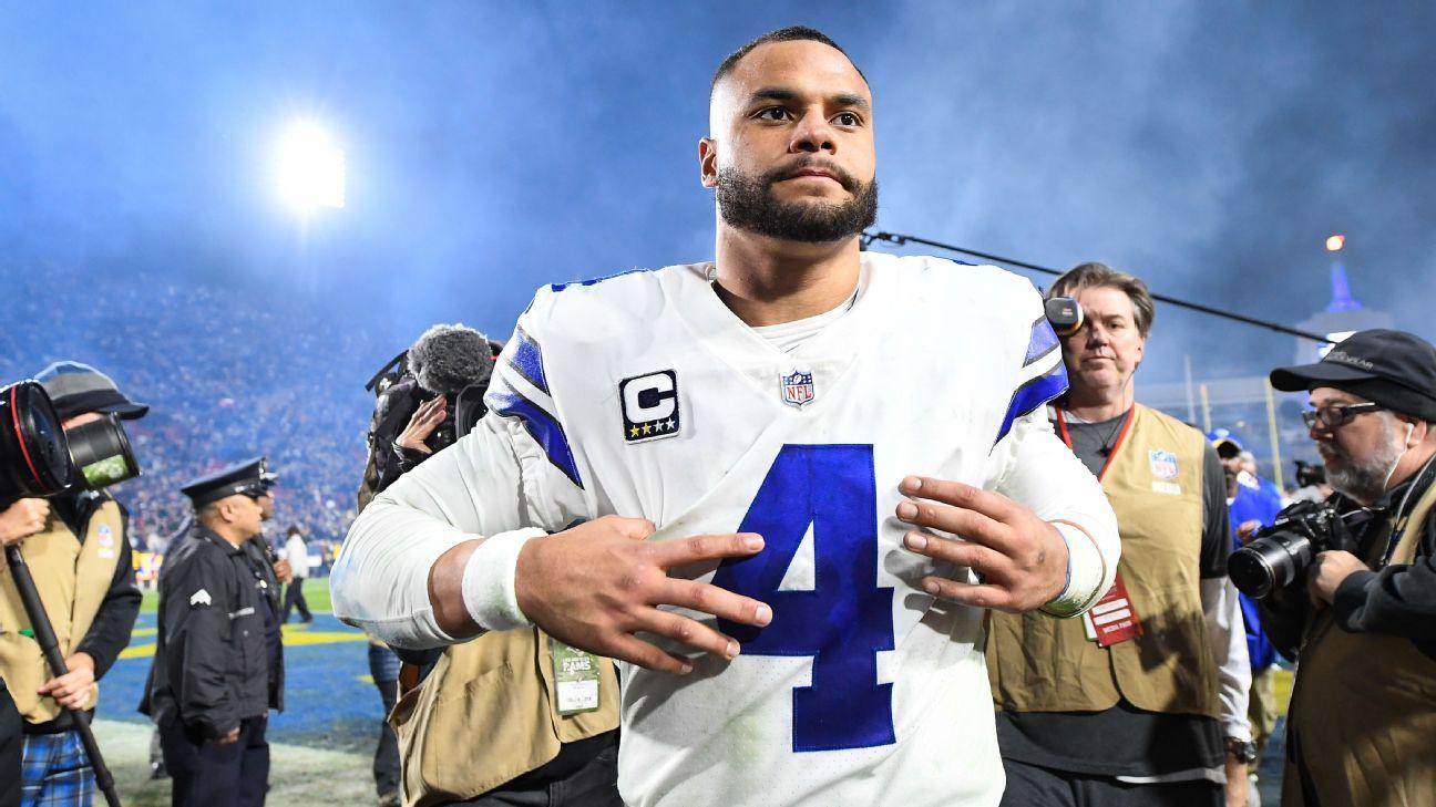 online store 90dac 3ad14 Why Dallas Cowboys quarterback Dak Prescott has earned a big ...