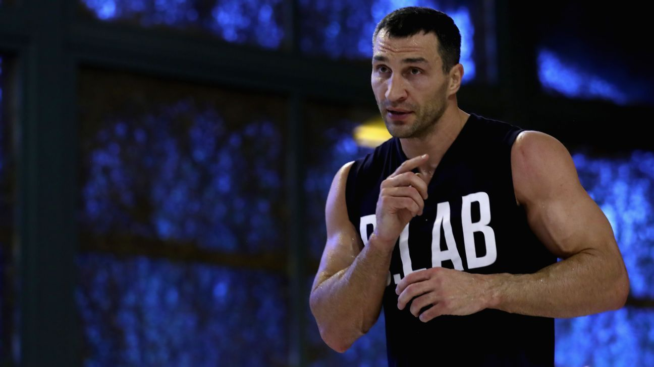 Klitschko rescued from burning yacht in Spain