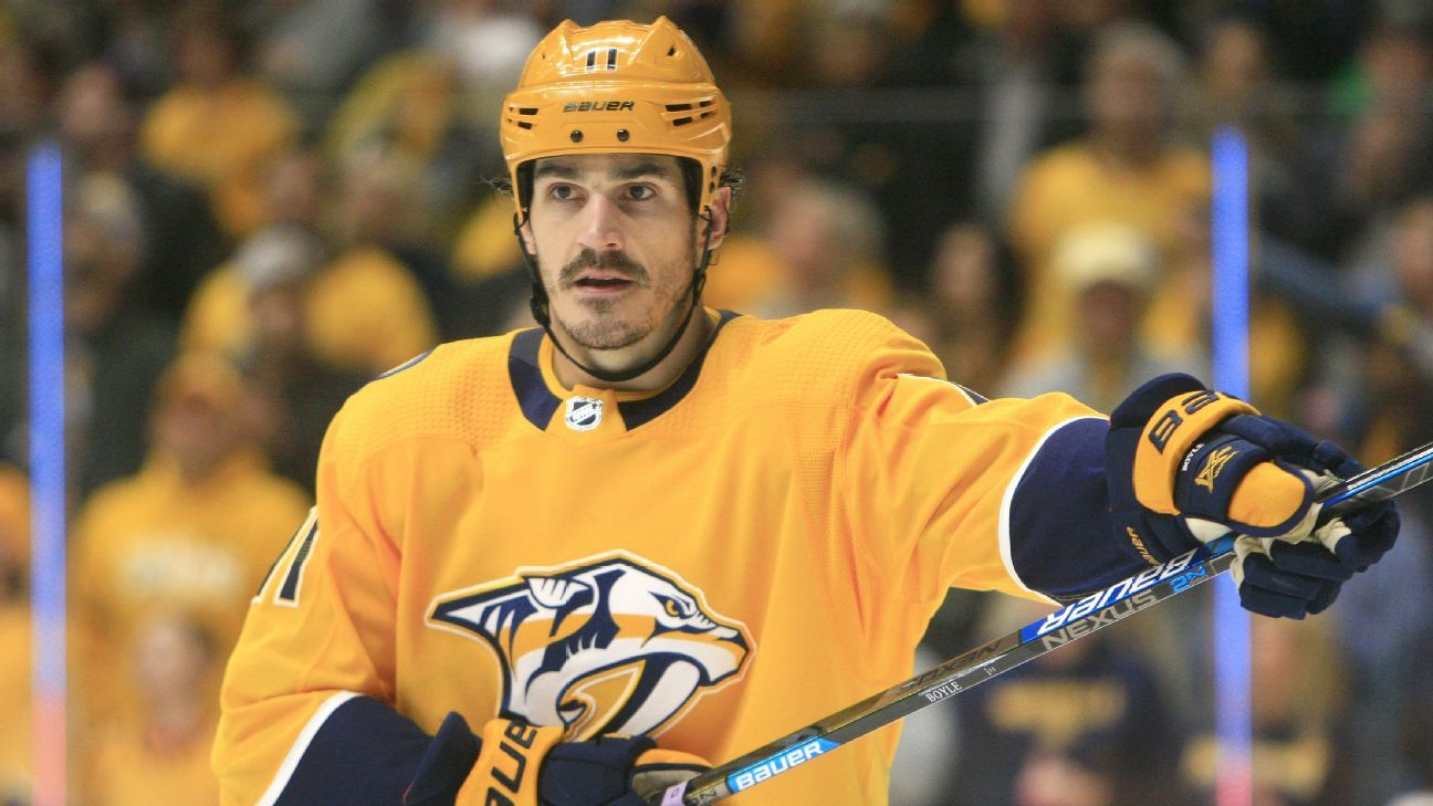 Panthers sign forward Brian Boyle to one-year deal