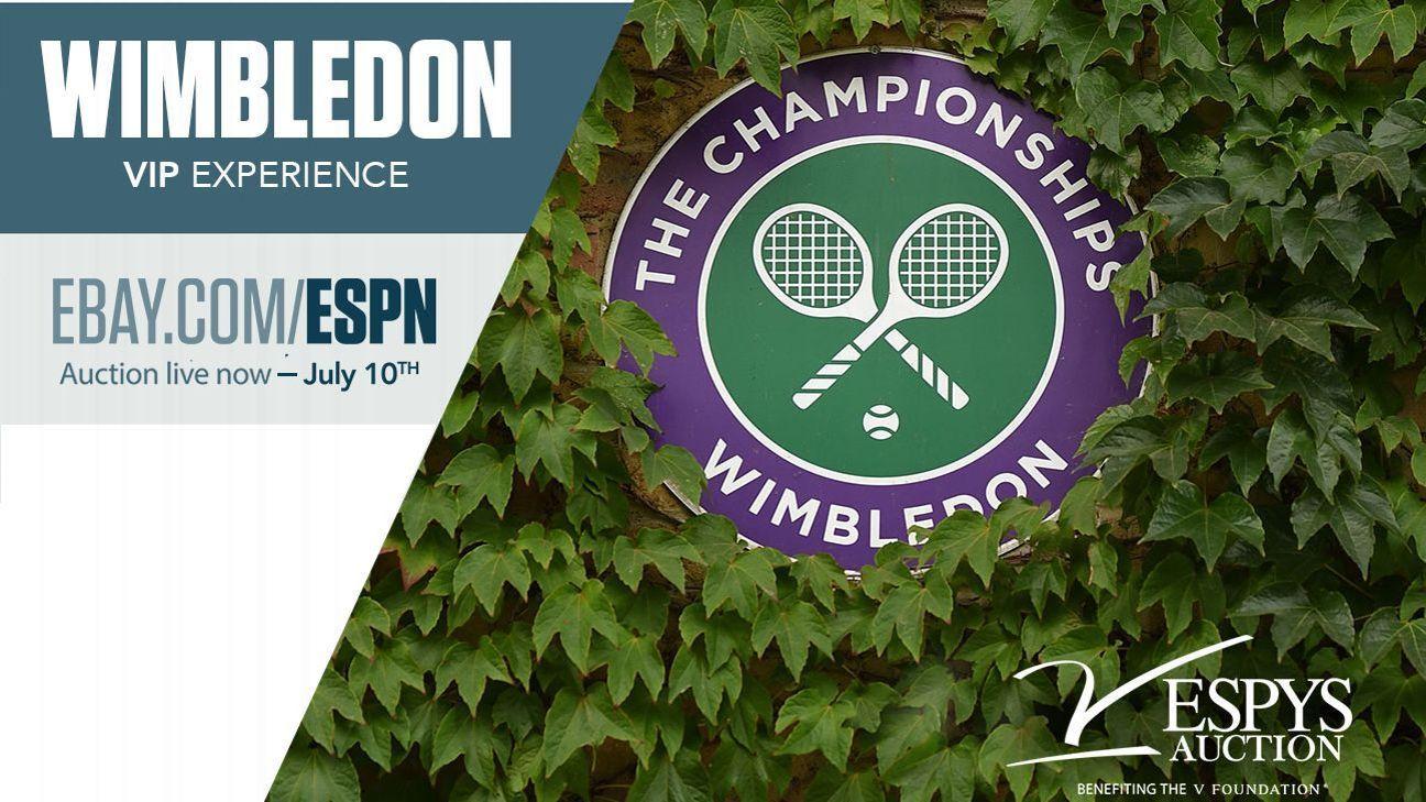 Espys Auction 2020 Wimbledon Experience