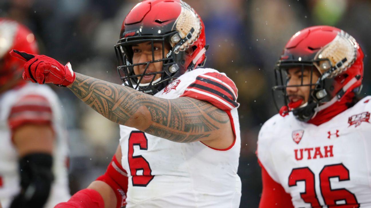 Steele - Utah's defensive line ranks atop big boys Alabama