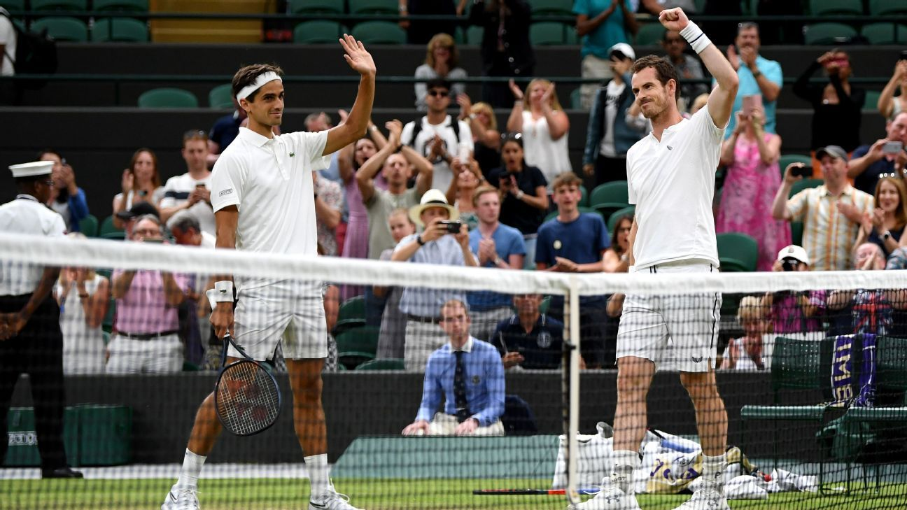 Murray returns to Wimbledon with opening win