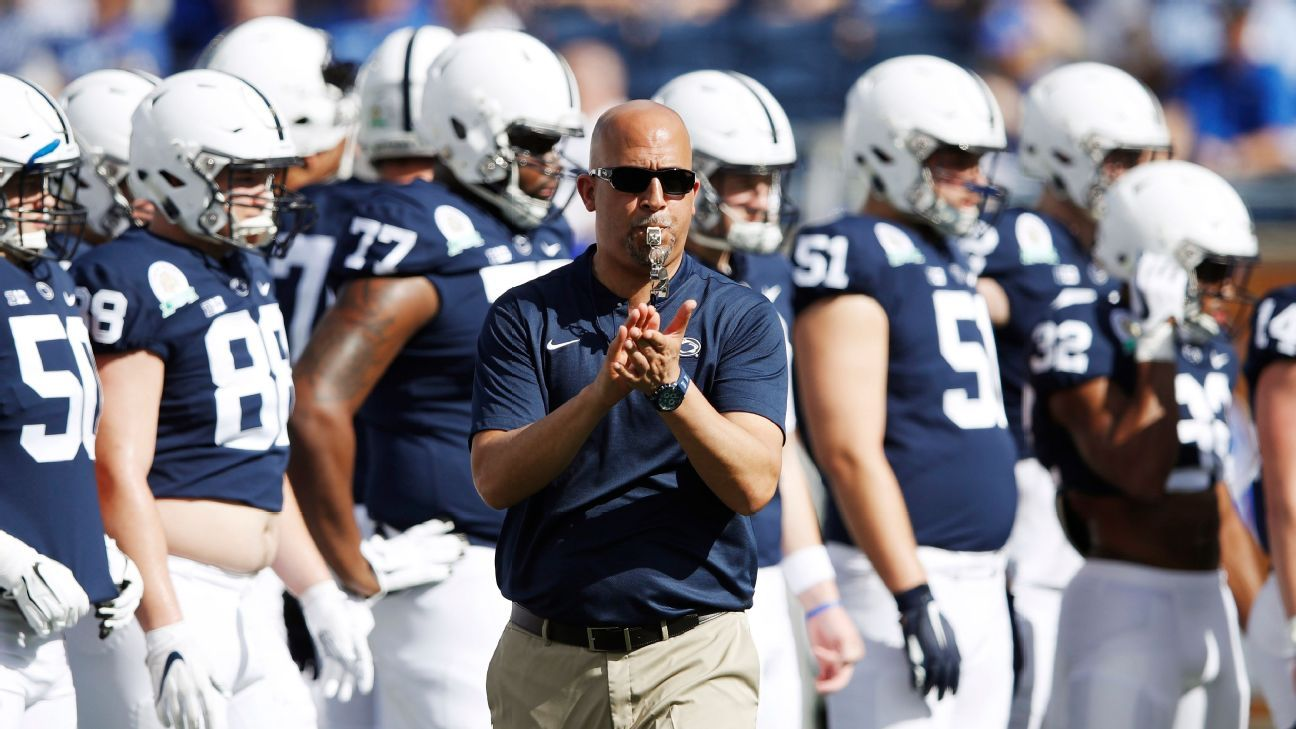 Penn State rewards James Franklin with new contract through 2025