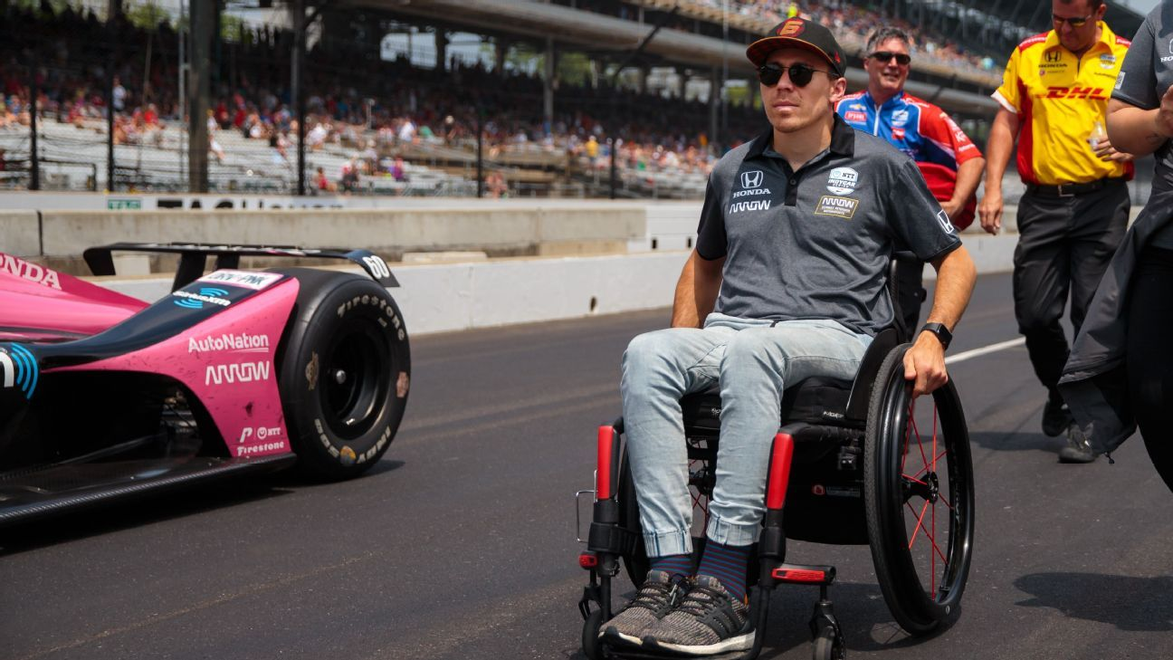Wickens to drive IndyCar lap with hand controls