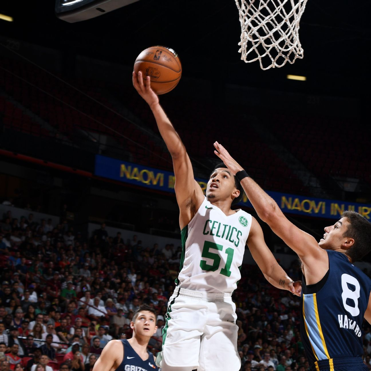 Celts' Waters nets 16 two days after dad's death