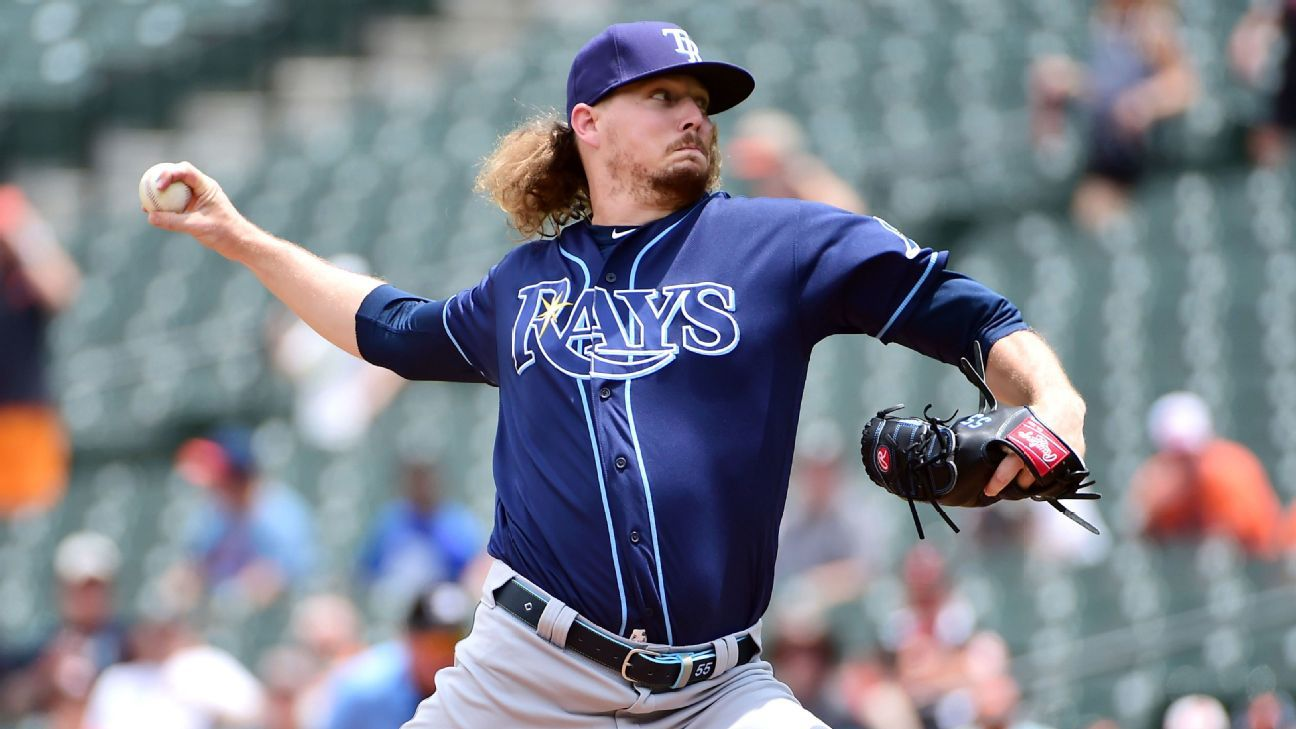 Rays opener Stanek to IL; 2-way McKay demoted