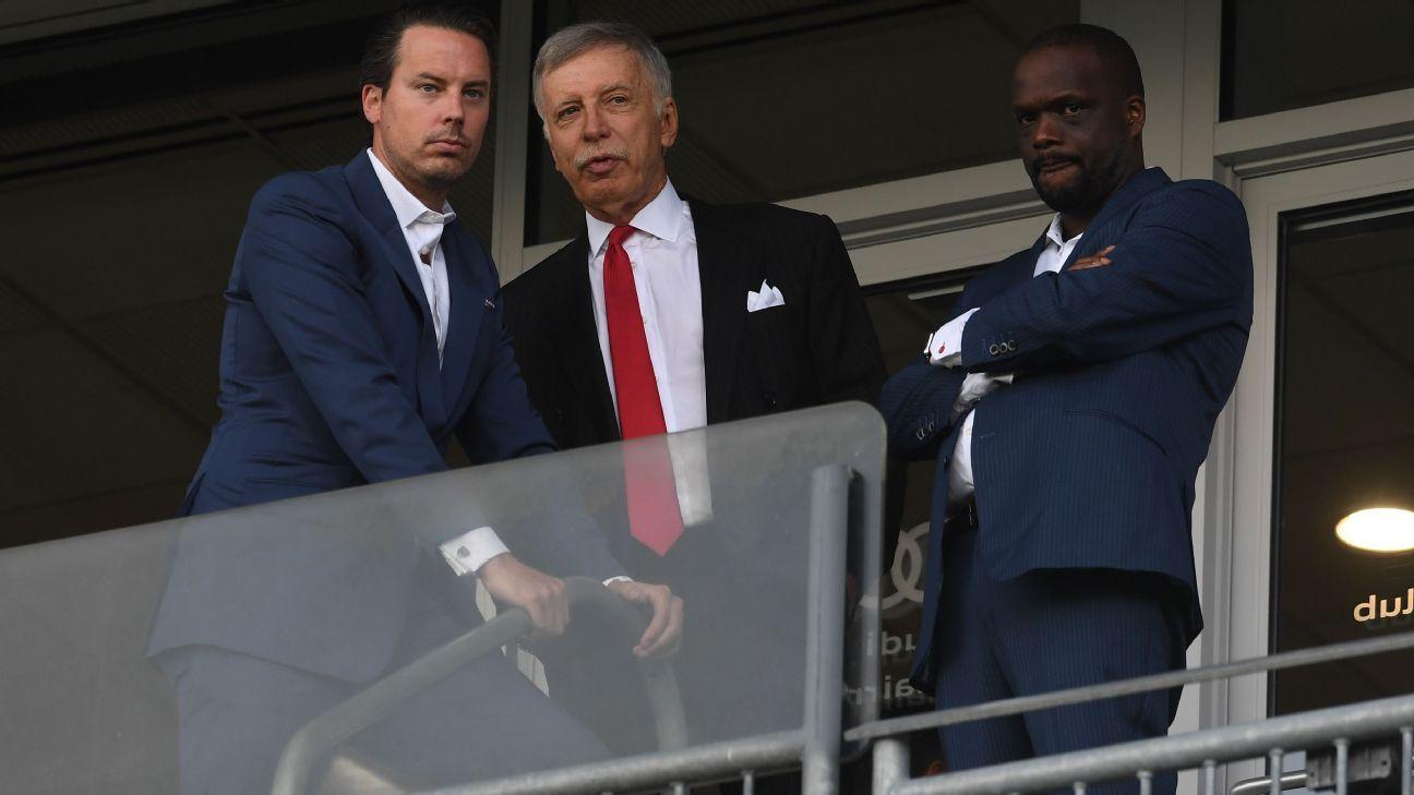 Arsenal director Kroenke: We have no intention of selling club after ESL backlash - ESPN