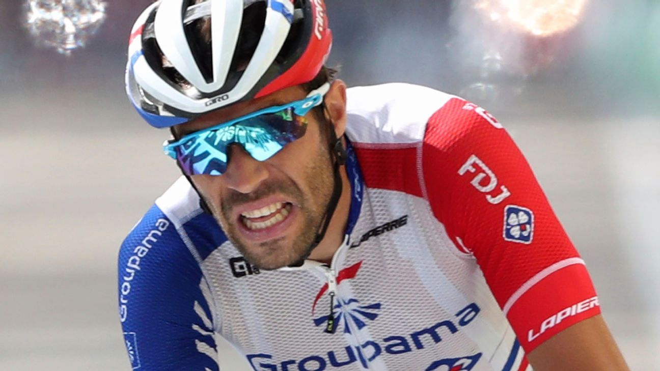 Pardon his French, it was a tough day for Thibaut Pinot at the Tour de France