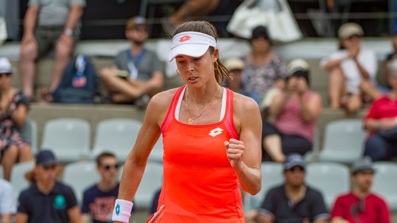 Cornet sets up all-French final with Ferro at Swiss Open