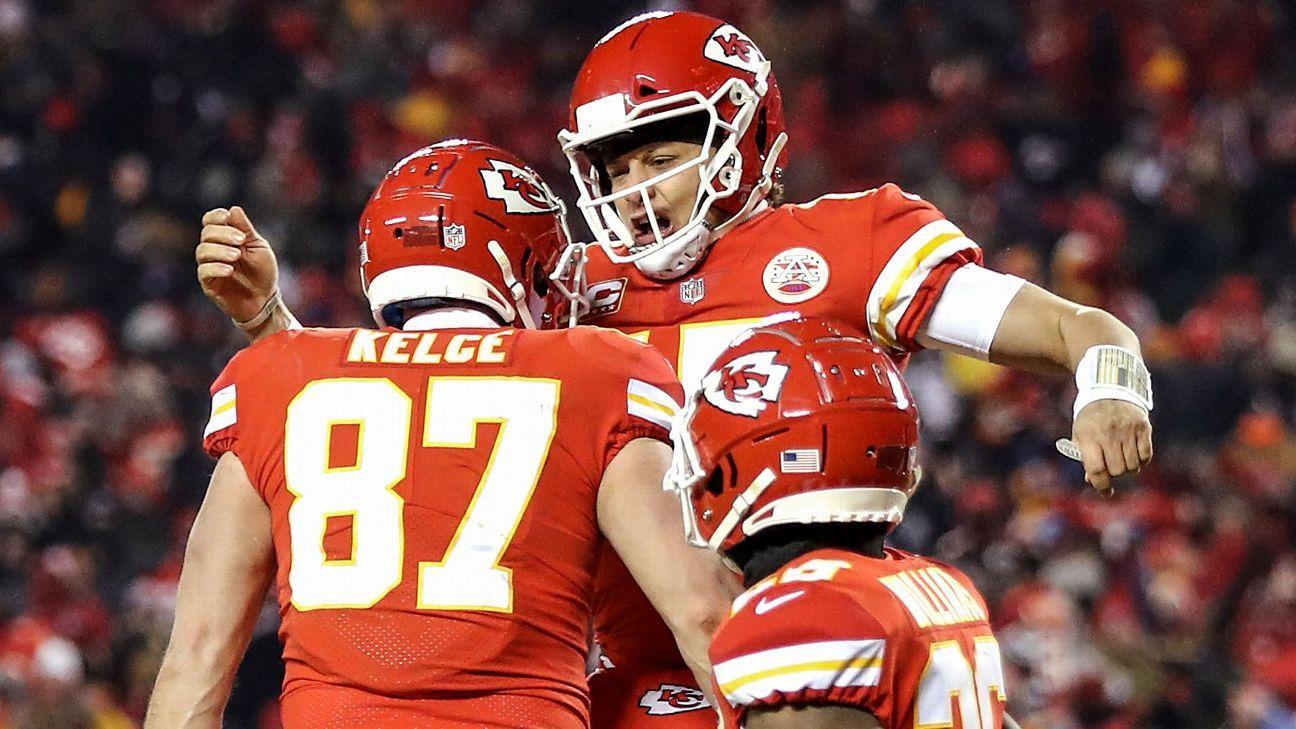 Chiefs kick off season as Super Bowl favorites