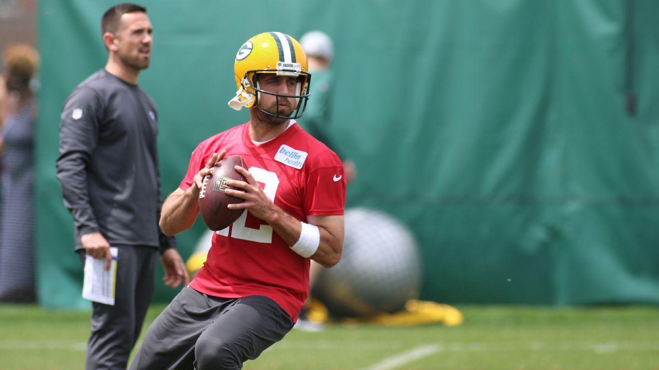 Rodgers returns to practice; Thu. start uncertain