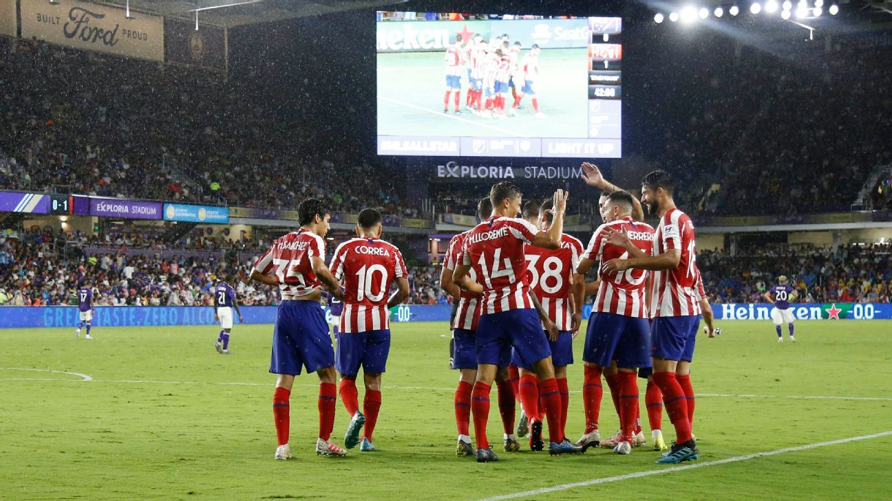 MLS All-Stars held scoreless in loss to Atletico