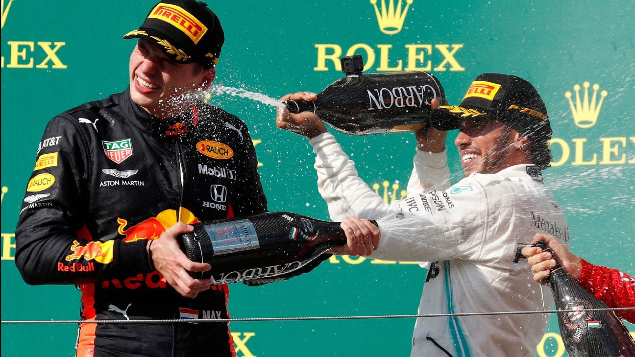 Hamilton and Verstappen has the makings of F1's next great rivalry