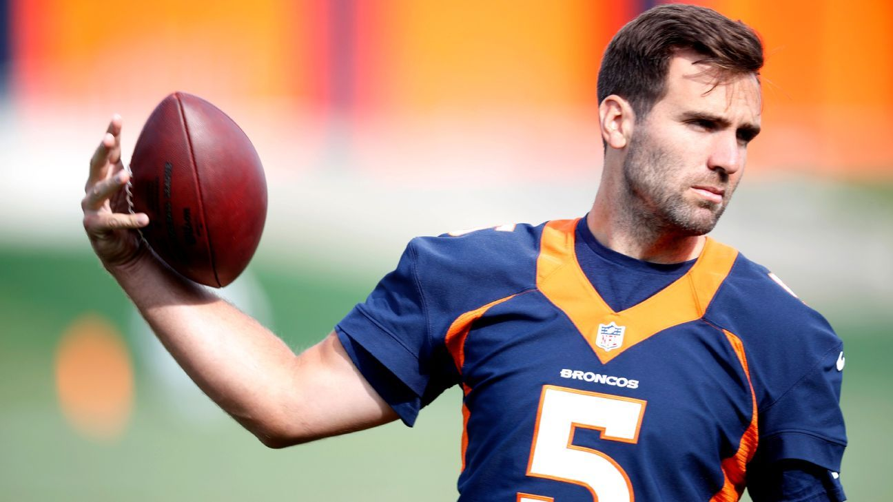 Why the Broncos turned to Joe Flacco to solve quarterback woes