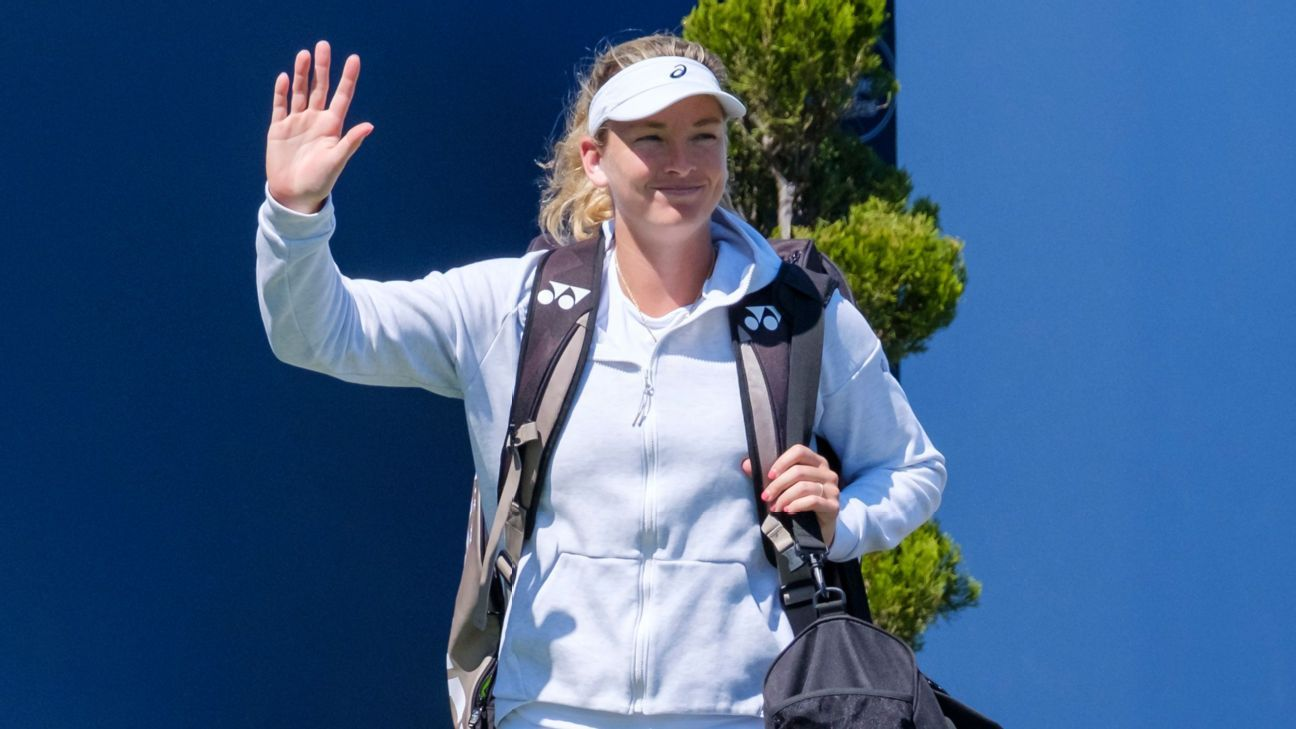 Coco Vandeweghe grateful for return to tennis from rare pain condition