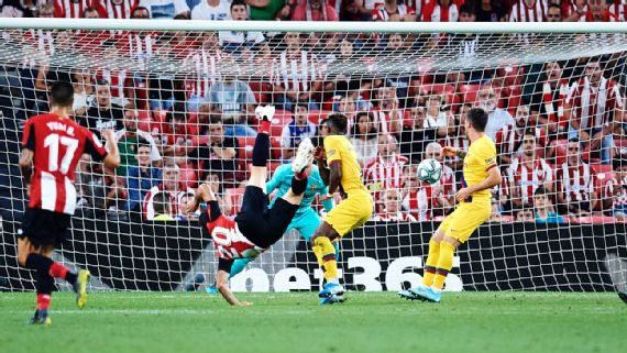 Athletic Bilbao 1-0 Barcelona