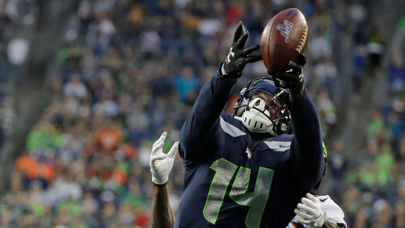 Seahawks rookie WR Metcalf set for knee surgery