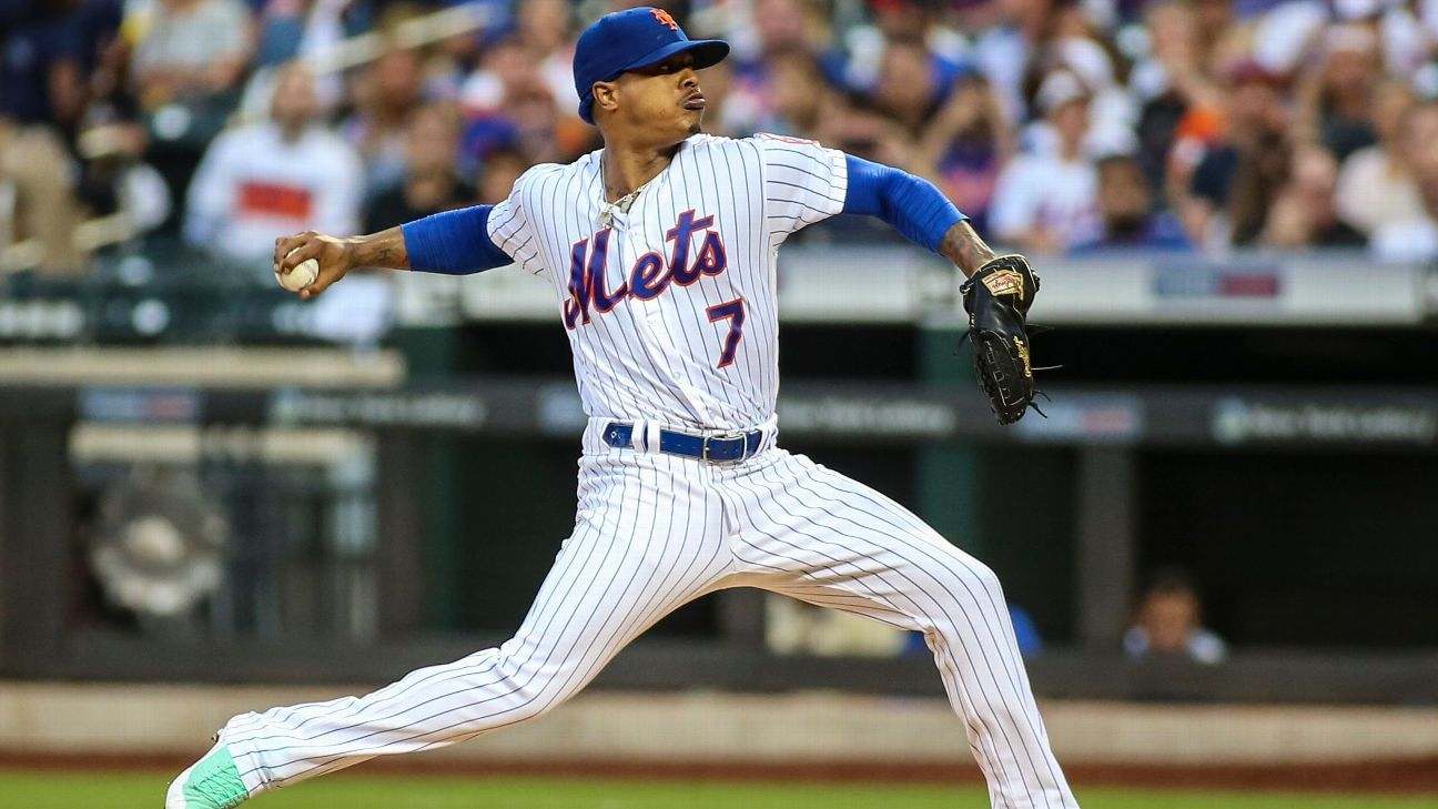 Mets' Stroman exits with tightness in hamstring