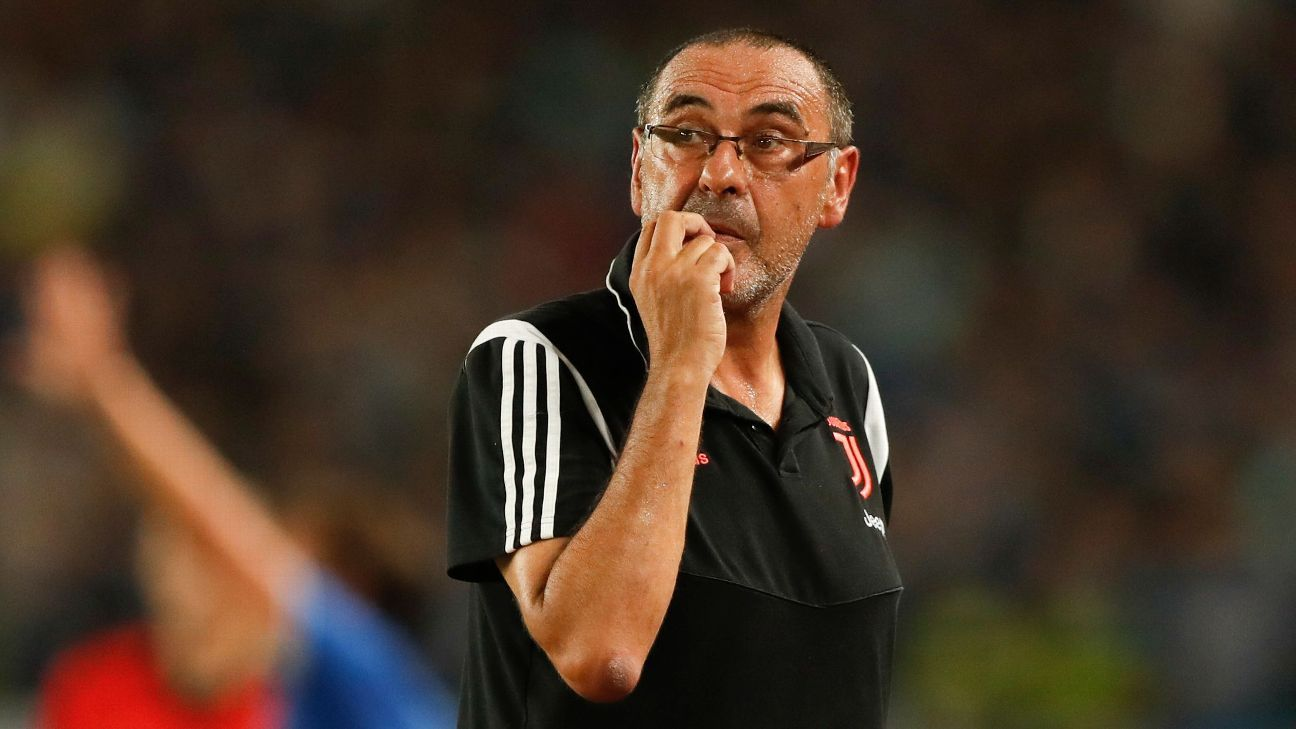 Sarri to miss first two matches with pneumonia