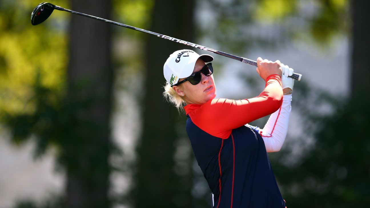 Larsen leads CP Women's Open after another 66